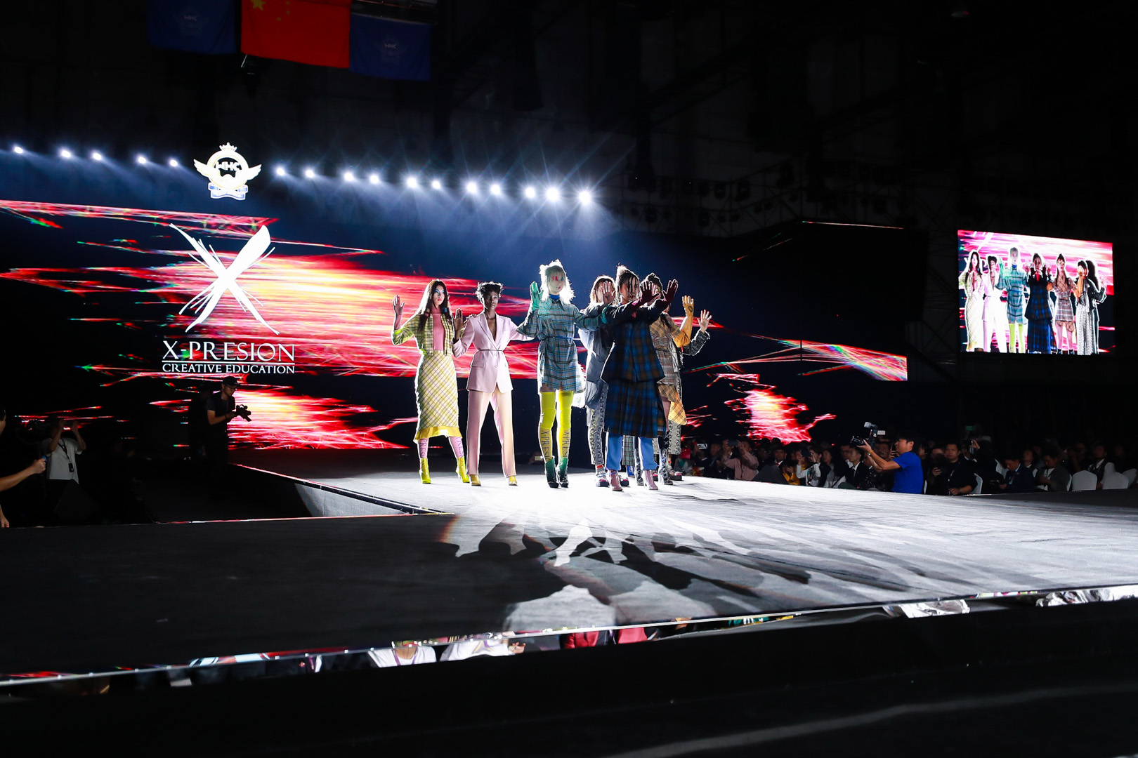 Tartán collection is going Global X-presion Show in China.
